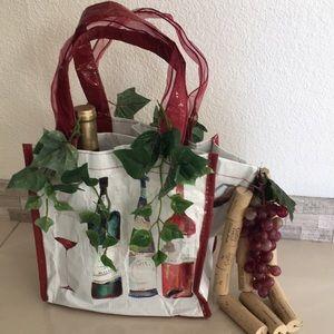Custom made wine holder bag!